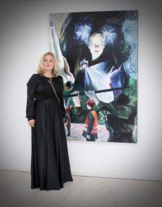 Ölmalerei zeitgenössisch Pörnbach Contemporary Gräfin Toerring-Jettenbach