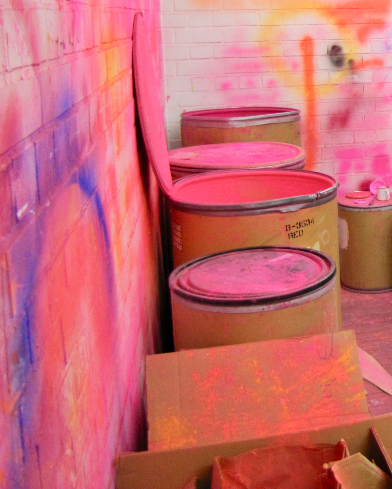 Pigment, Neonpink, Archiv Geiger, Rupprecht Geiger