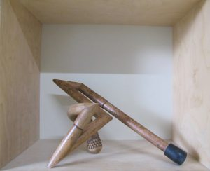 Skulptur, Holz, verziert, Betz, Akademie München