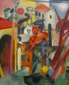 Campendonk, Blauer Reiter, 1912, Franz Marc