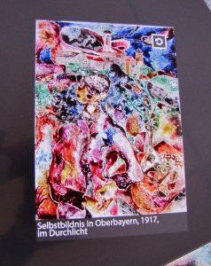 Campendonk, Glasbild, Museum Penzberg, Blauer Reiter