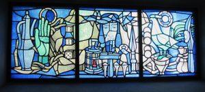 Glasfenster, Campendonk, Kirche Penzberg